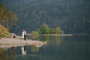 Hochzeit am Eibsee