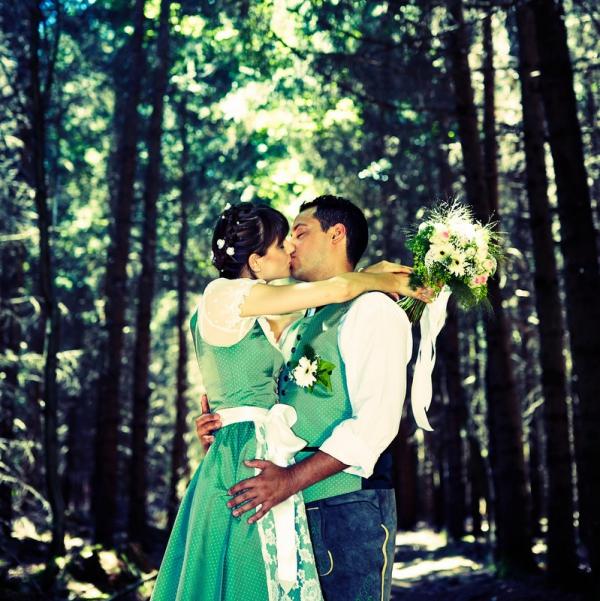 Blue Wedding Photography