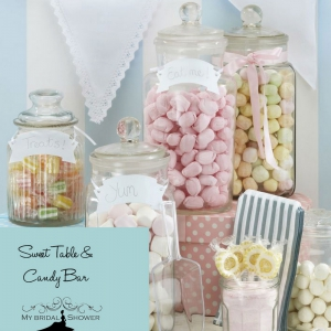 My Bridal Shower Candybar